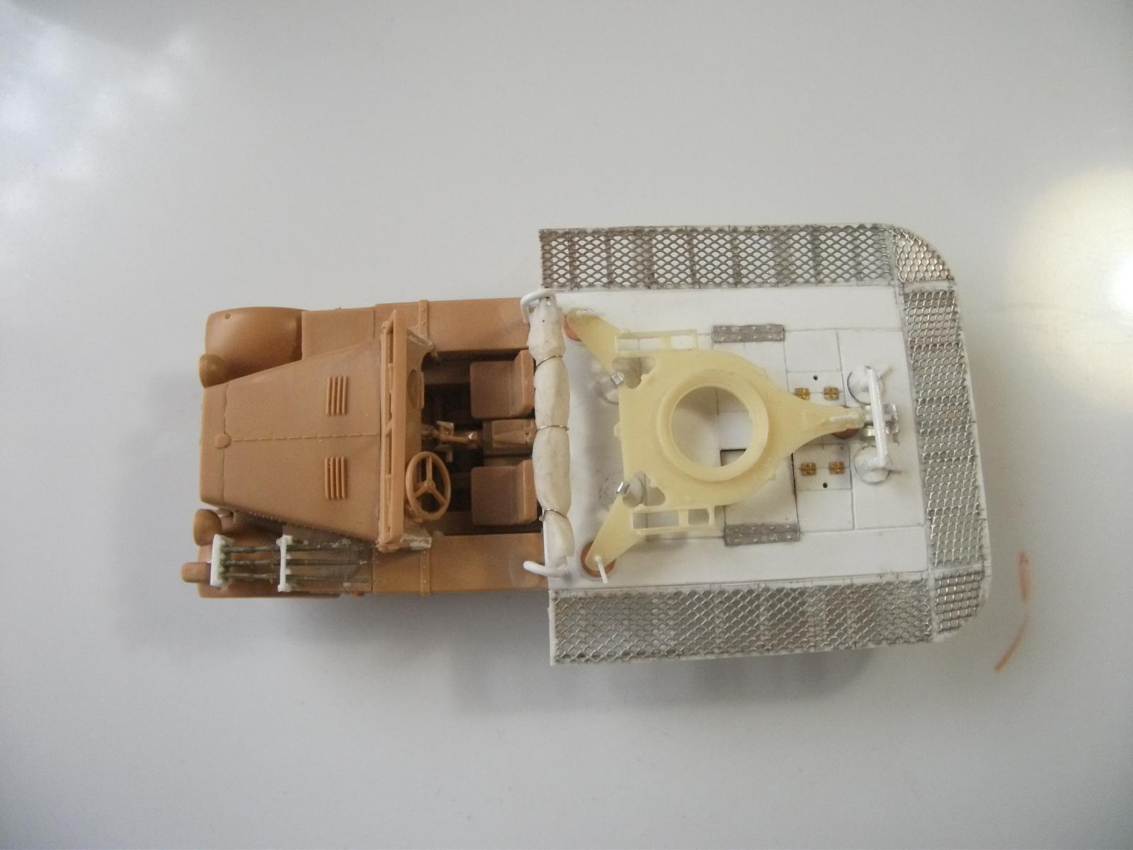 sdkfz - SdKfz 10/4, Krupp Protze et fieldkitchen au 1/48 DSCF1083